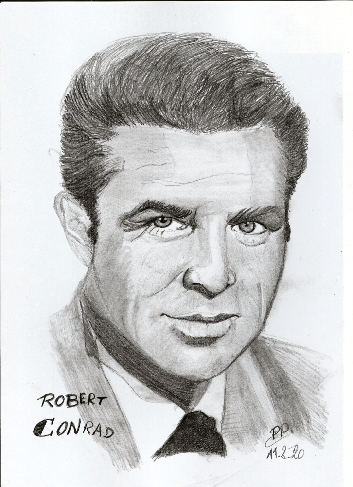 Robert Conrad by Patoux